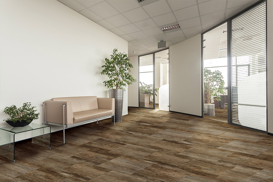 Wood look waterproof flooring in Fruita, CO from Carpetime