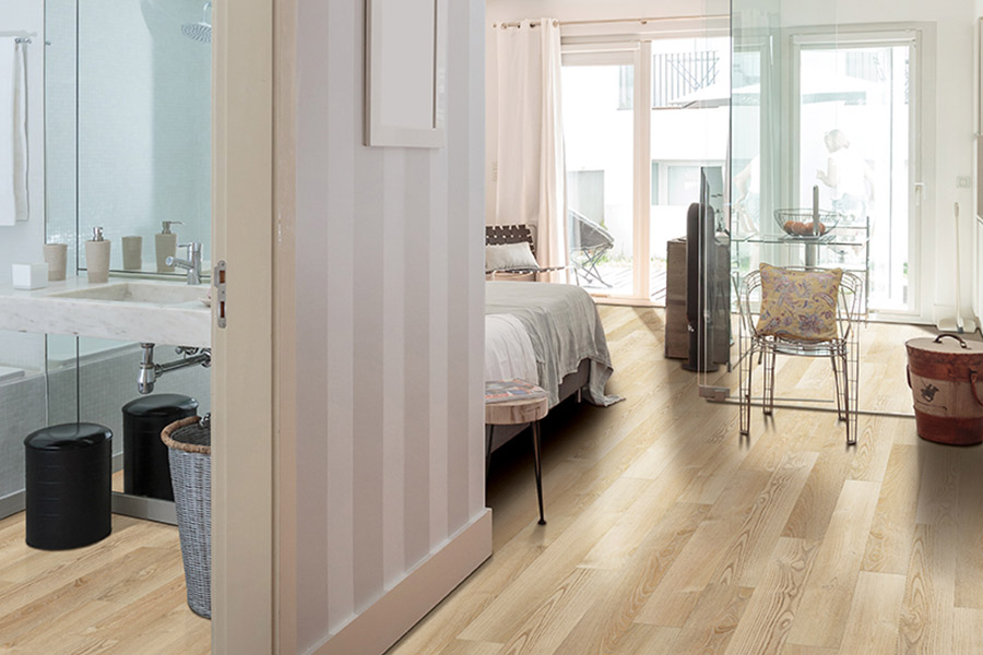 Wood look luxury vinyl plank flooring in Essex County, NJ from Treptow floors