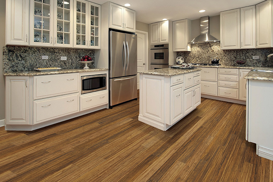 Wood look waterproof flooring in New Paltz, NY from The Carpet Store and Warehouse