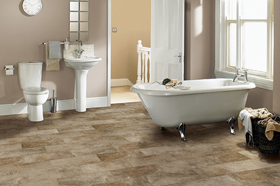 Waterproof bathroom flooring in  Lake Wales FL from Burns Flooring & Kitchen Design
