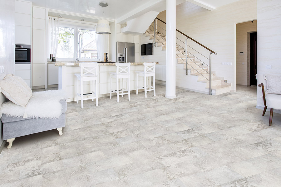 Waterproof tile flooring in Belmont, CA from Conklin Bros. Floor Coverings