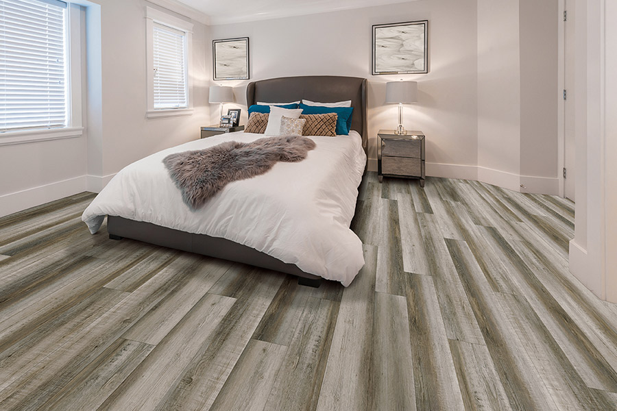 Wood look waterproof flooring in Macomb Township, MI from Villa Carpets