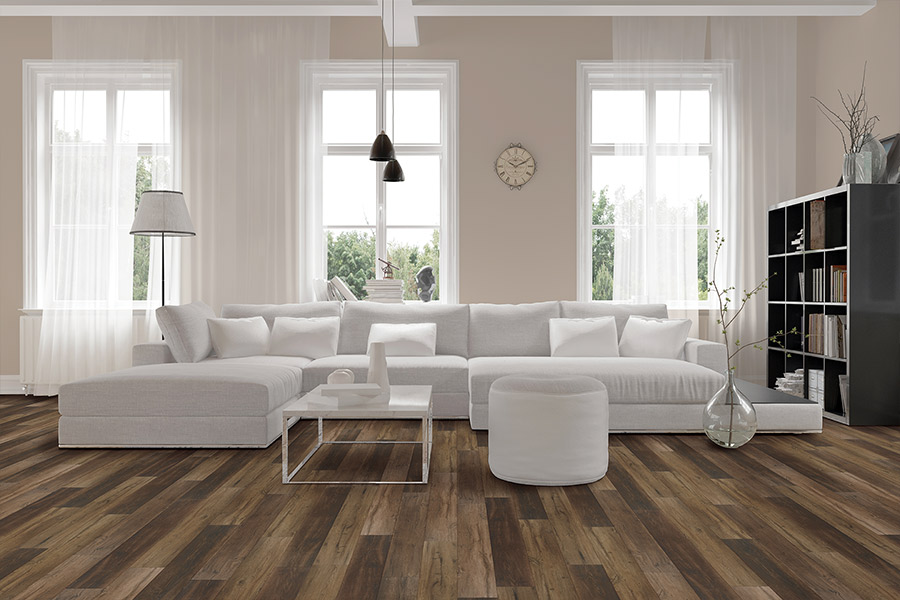 Wood look waterproof flooring in Salisbury, MD from SeaFloor Carpet Hardwood & More