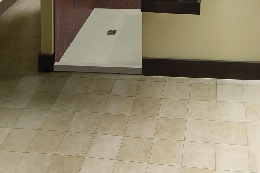Wood look vinyl sheet flooring in Stanton, CA from B&B Carpets and Flooring
