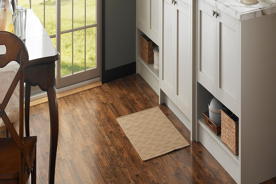 Wood look vinyl sheet flooring in Carleton, MI from Mike's Quality Flooring
