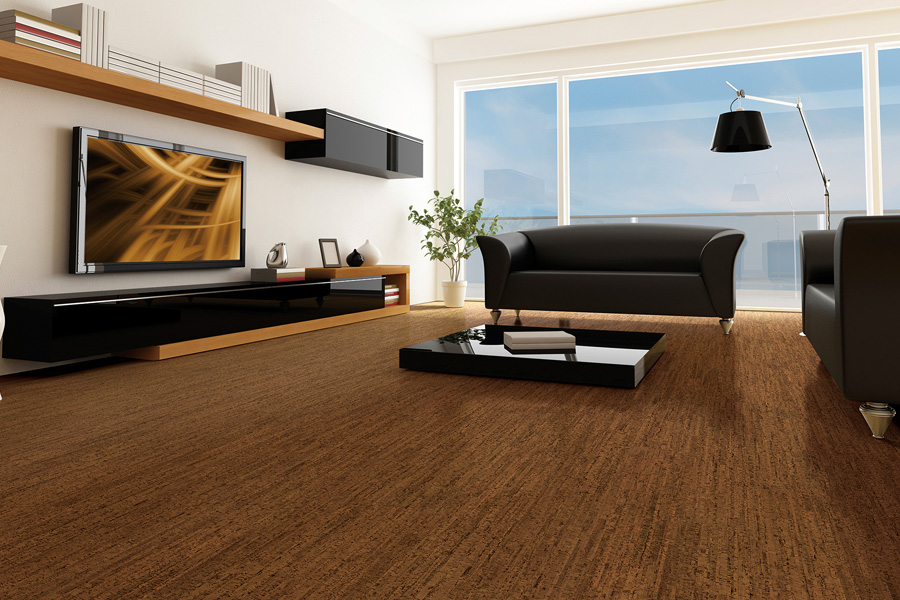 Eco-friendly flooring options such as cork in Owasso, OK from Superior Wood Floors & Tile