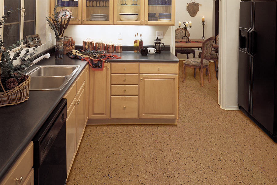 Eco-friendly flooring options such as cork in West palm Beach, FL from Prestige Carpet and Tile Clearance