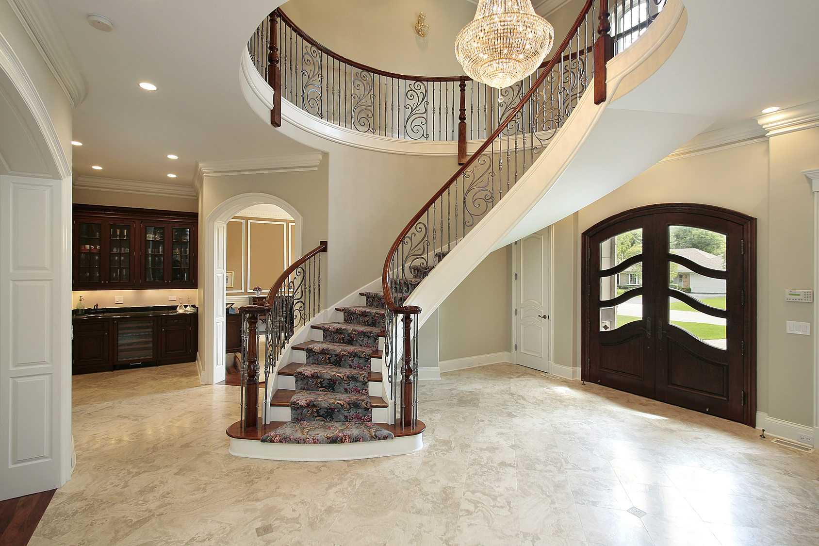 Natural stone flooring in McKinney, TX from Home Floors