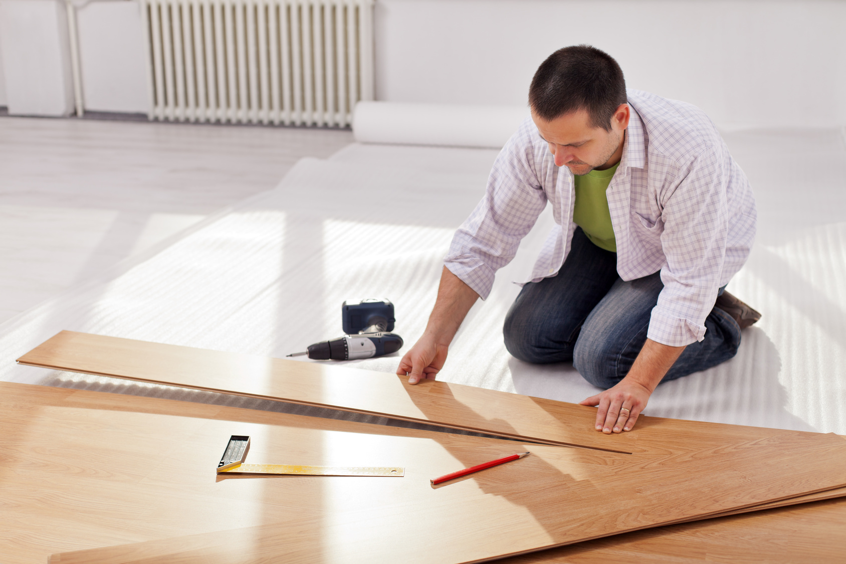 Flooring installation in Corona, CA