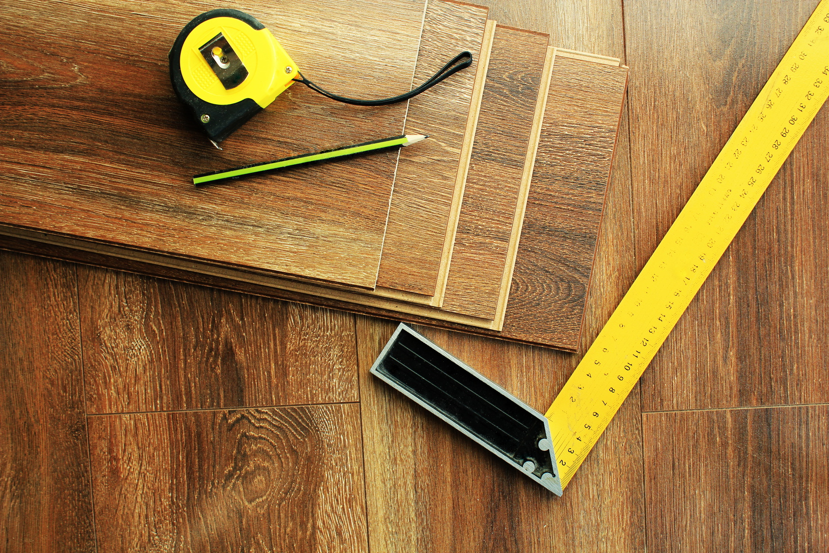 In-home flooring measurements in Ronks, PA