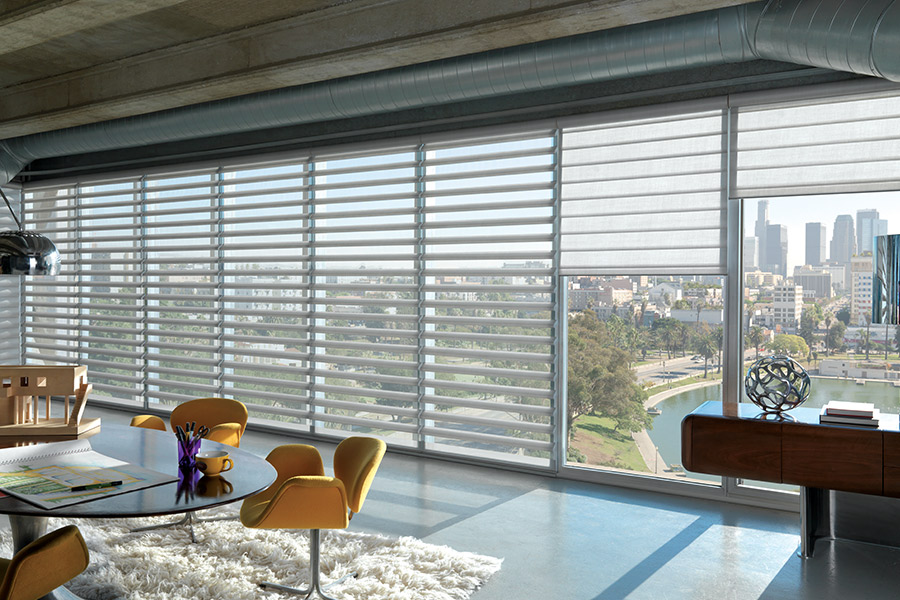 Custom window treatments in North Palm Beach, FL from California Designs