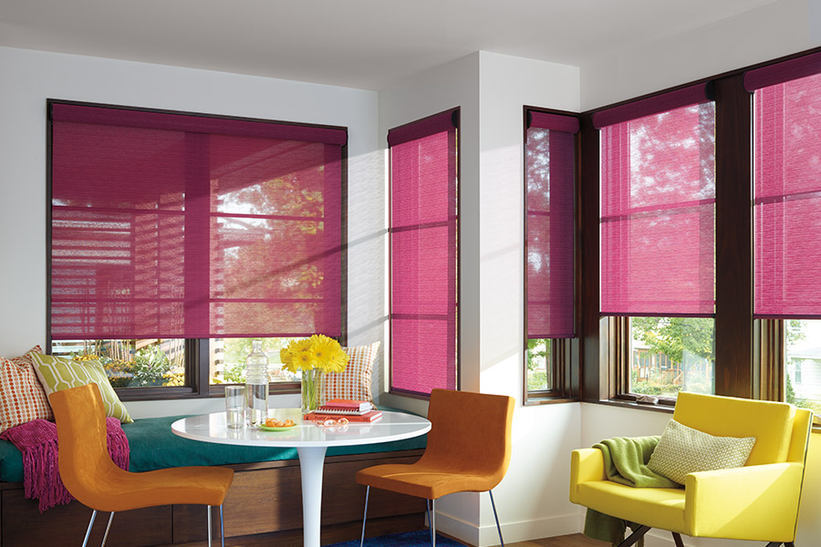 Roller Screen Shades In Houston Tx From Petra Flooring Blinds
