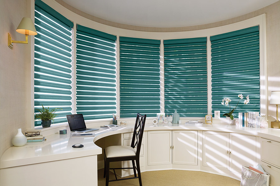 Beauitul window treatments in Morton, IL from Vonderheide Floor Covering