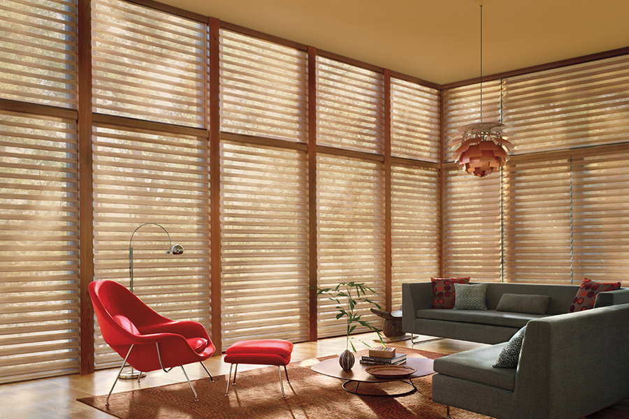 Classic window treatments in Metamora, IL from Vonderheide Floor Covering