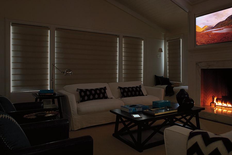 Modern window treatments in Richmond, MI from Richmond Interiors