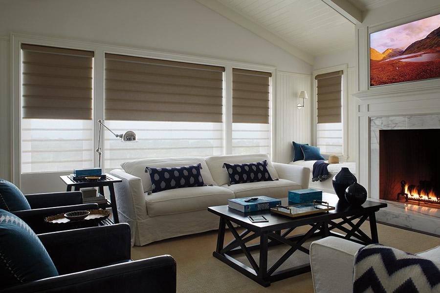 Window treatments in Clarksville, DE from Paul Morin's Floor & Wall Design