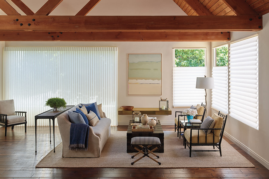 Vertical blinds in Cypress, CA from Bixby Plaza Carpets & Flooring