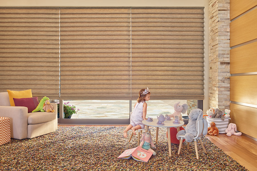 Solar blocking shades in Newport Beach, CA from Bixby Plaza Carpets & Flooring