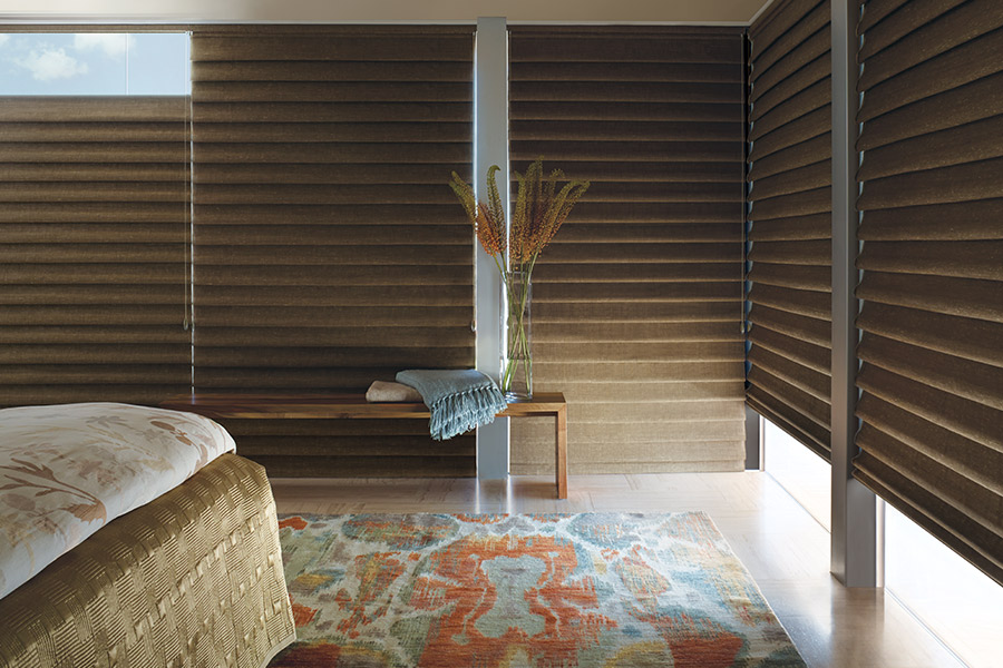 Motorized shades in Seal Beach, CA from Bixby Plaza Carpets & Flooring
