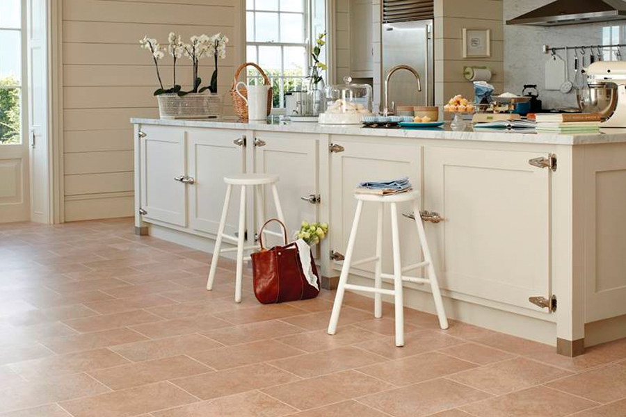 Luxury vinyl tile (LVT) flooring in Garden Grove, CA from Bixby Plaza Carpets & Flooring