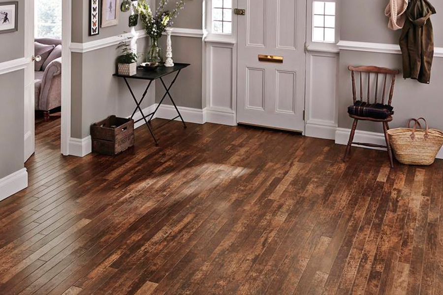 Wood look luxury vinyl plank flooring in North Myrtle Beach, SC from Young Interiors Flooring Center