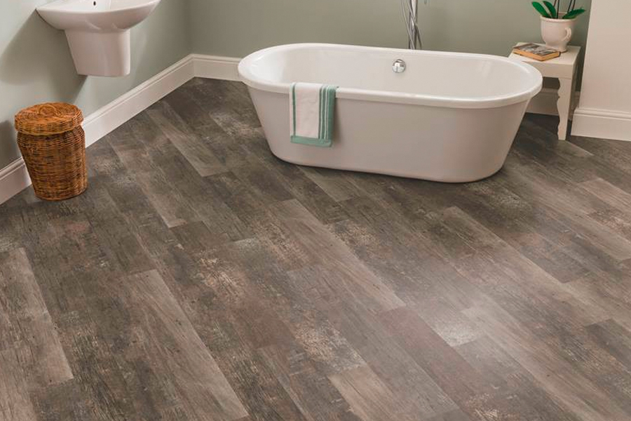 Waterproof luxury vinyl floors in Windsor, CO from Schmidt Custom Floors