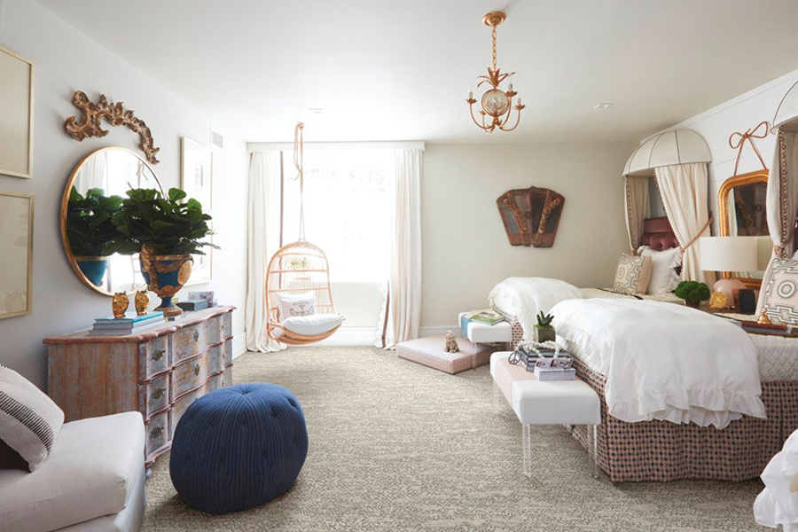 Stylish carpet in Foster City, CA from A Saberi Interiors