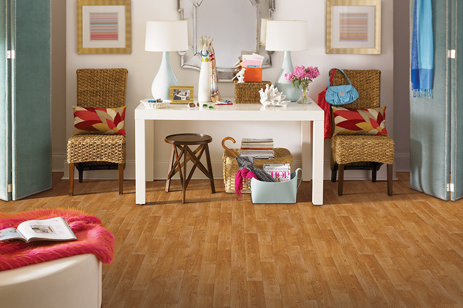 Wood look vinyl sheet flooring in Green Bay, WI from Carpet City