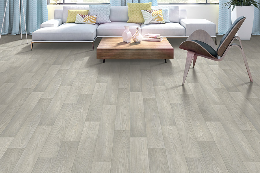 Wood look luxury vinyl plank flooring in Roanoke, IN from K&N Carpet
