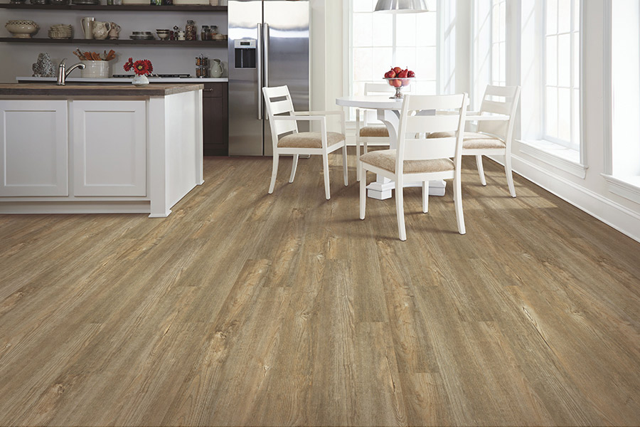 Wood look vinyl sheet flooring in Atchison County, MO from Carpet Masters