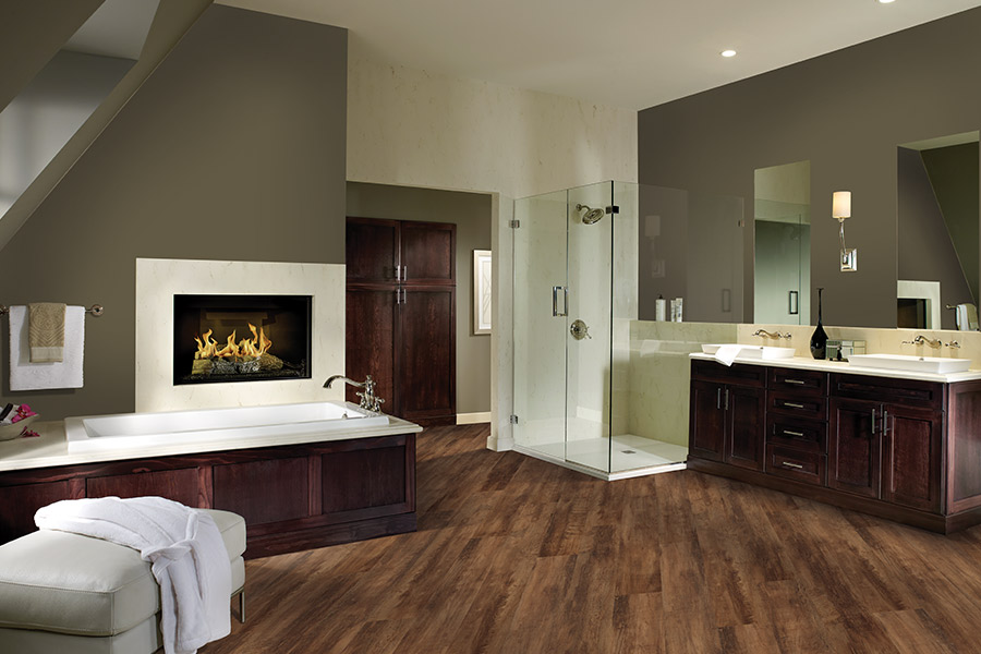 Wood look luxury vinyl plank flooring in Selbyville, DE from Room Flippers