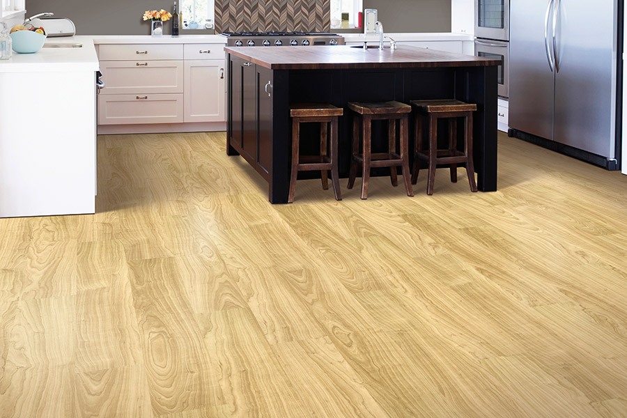 Strong luxury vinyl for your Fort Bragg, NC kitchen from Cape Fear Flooring and Restoration
