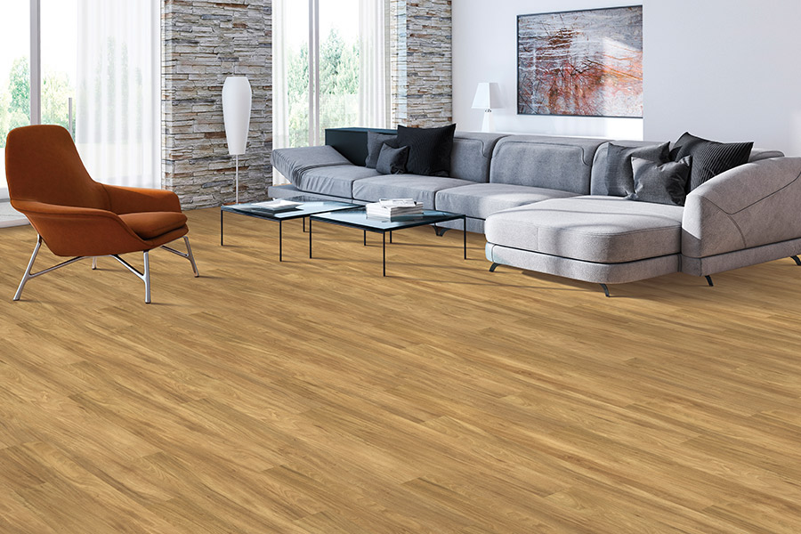 Wood look luxury vinyl plank flooring in Gulf Breeze, FL from Cottingham Tile Co.