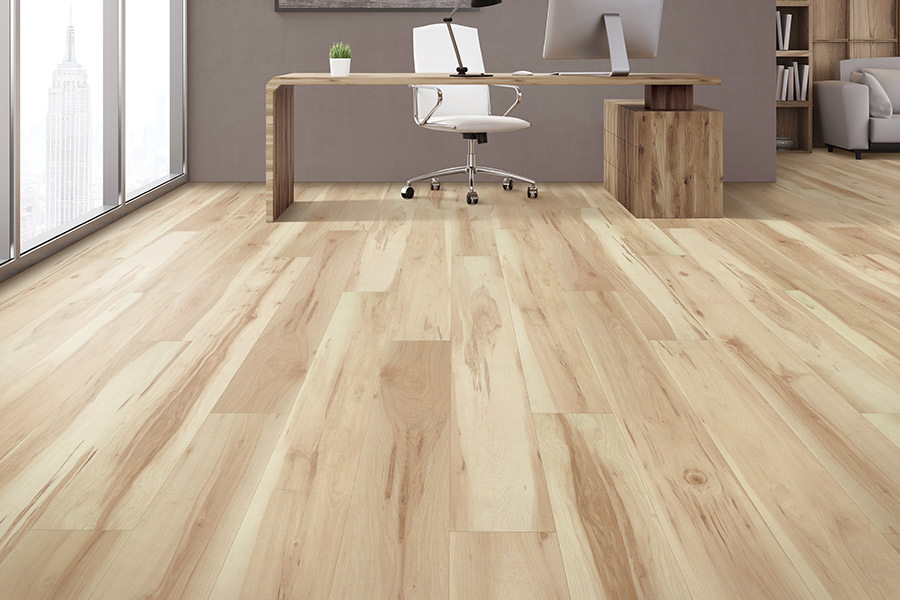 Wood look luxury vinyl plank flooring in Iowa City, IA from Stoneking Enterprises