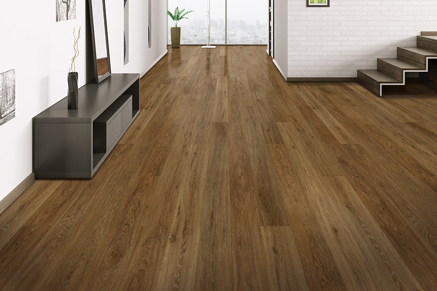 Wood look waterproof flooring in Abilene, TX from Menke Inc