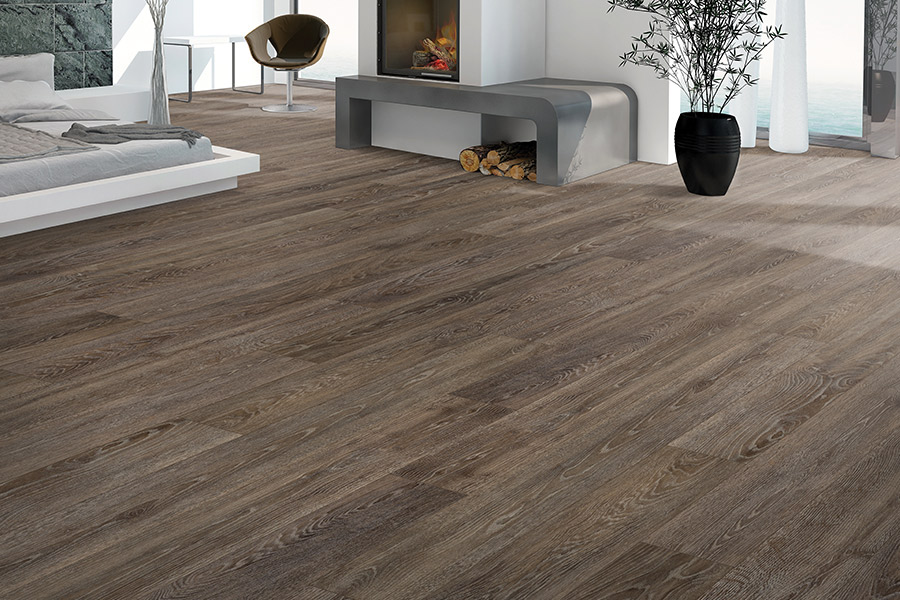 Wood look waterproof flooring in Franklin, MA from Paramount Rug Company