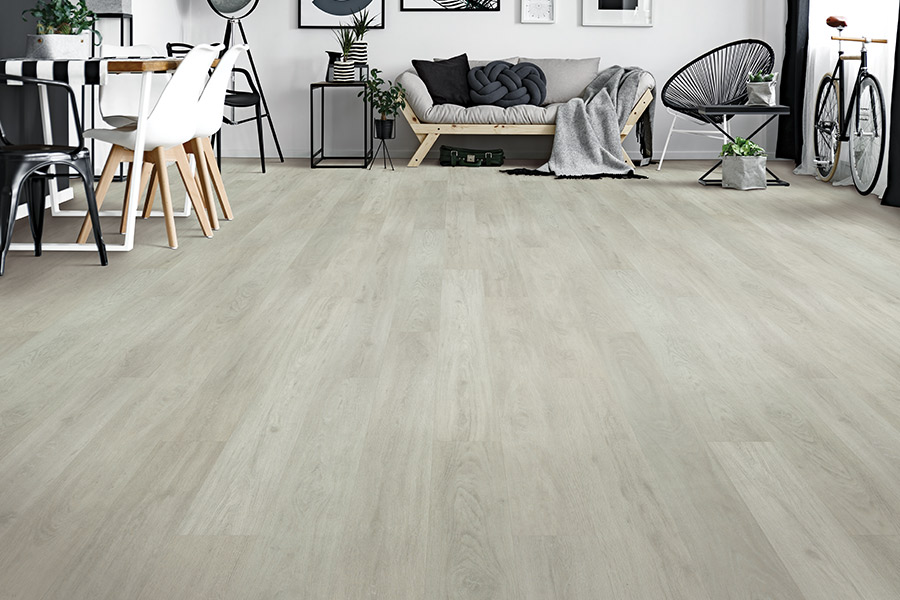 Luxury vinyl floors in