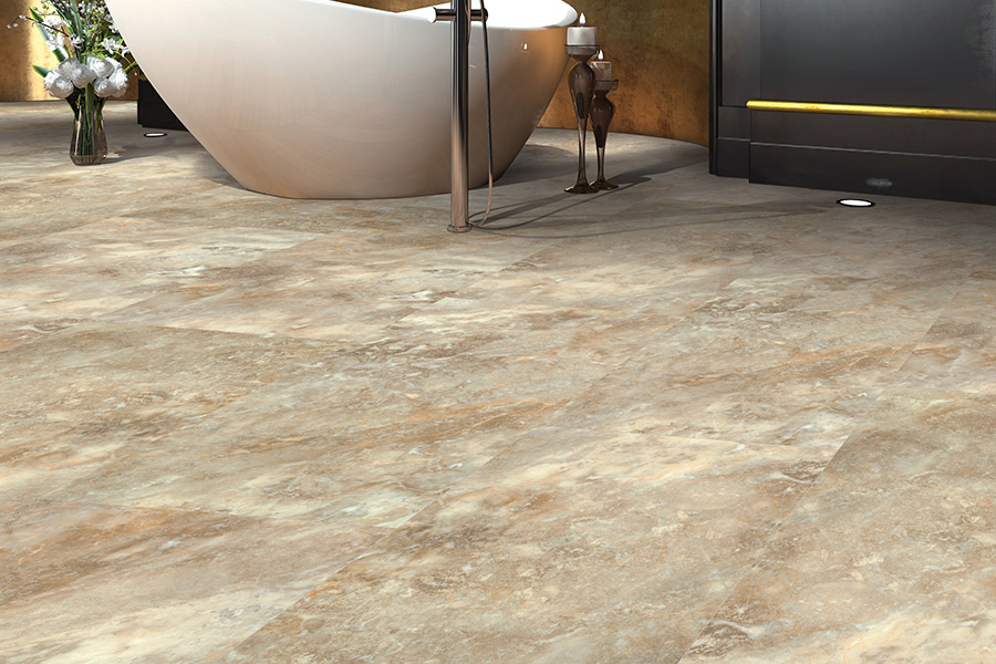 Modern vinyl flooring in Austin, TX from Posh Floors