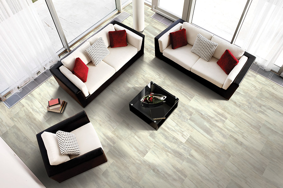 Modern vinyl flooring in Laurel, MD from Contract Carpet One