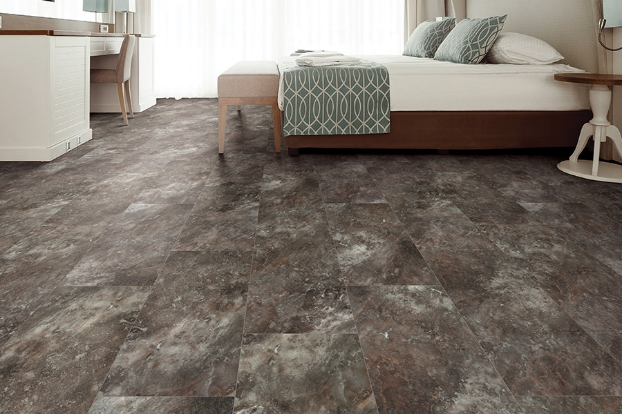 Luxury vinyl tile (LVT) flooring in Madison, OH from Carpet Mart