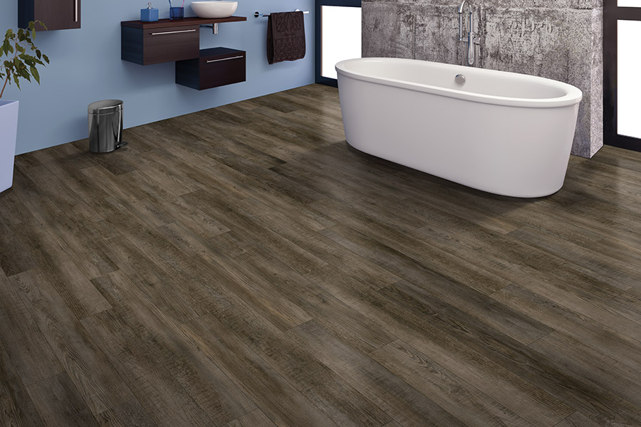 Wood look waterproof flooring in Sacramento, CA from American River Flooring