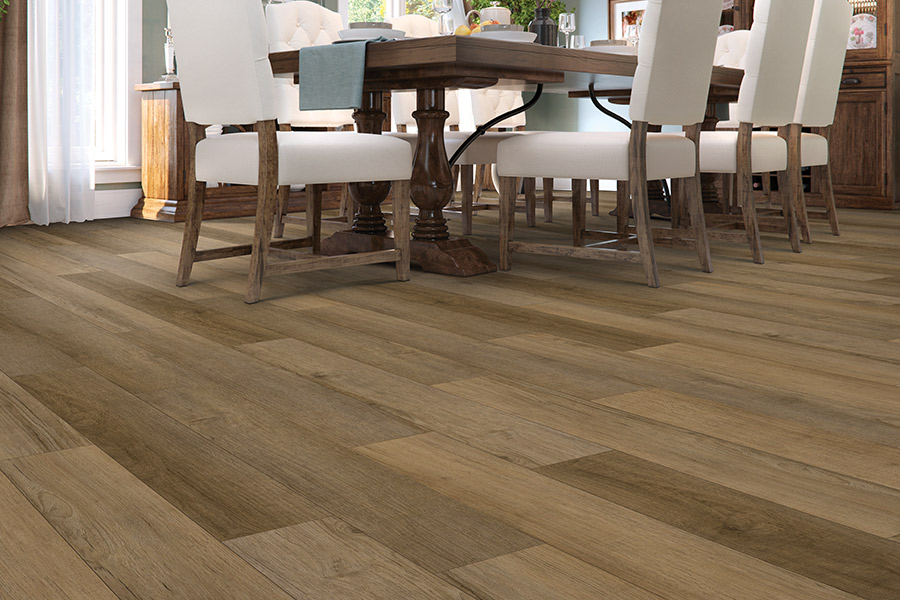 Wood look luxury vinyl plank flooring in Detroit, MI from Roman Floors & Remodeling