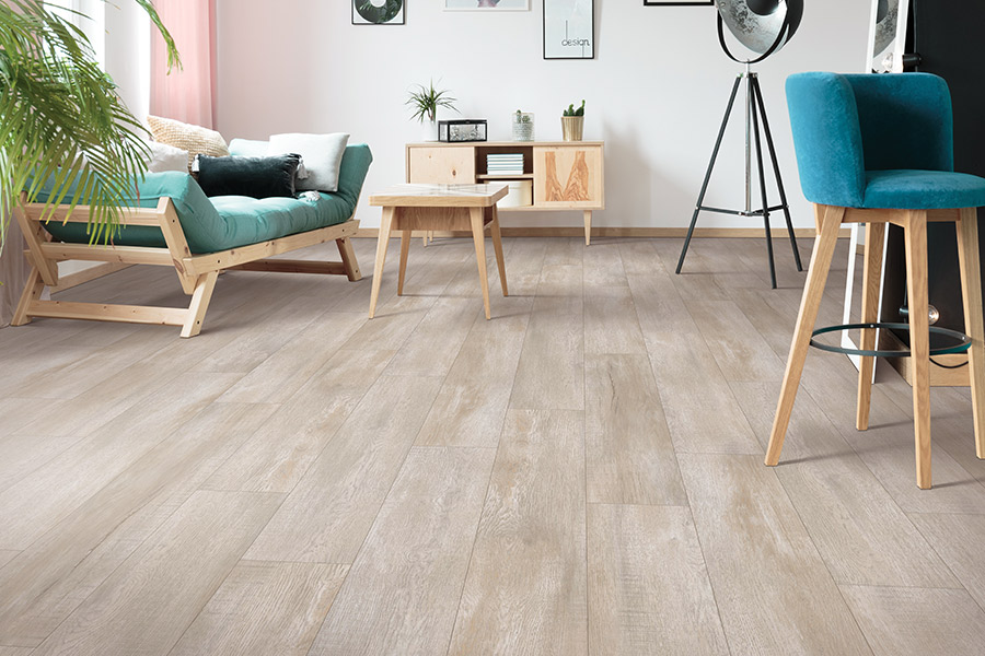 Wood look luxury vinyl plank flooring in Holly Springs, NC from The Home Center Flooring & Lighting