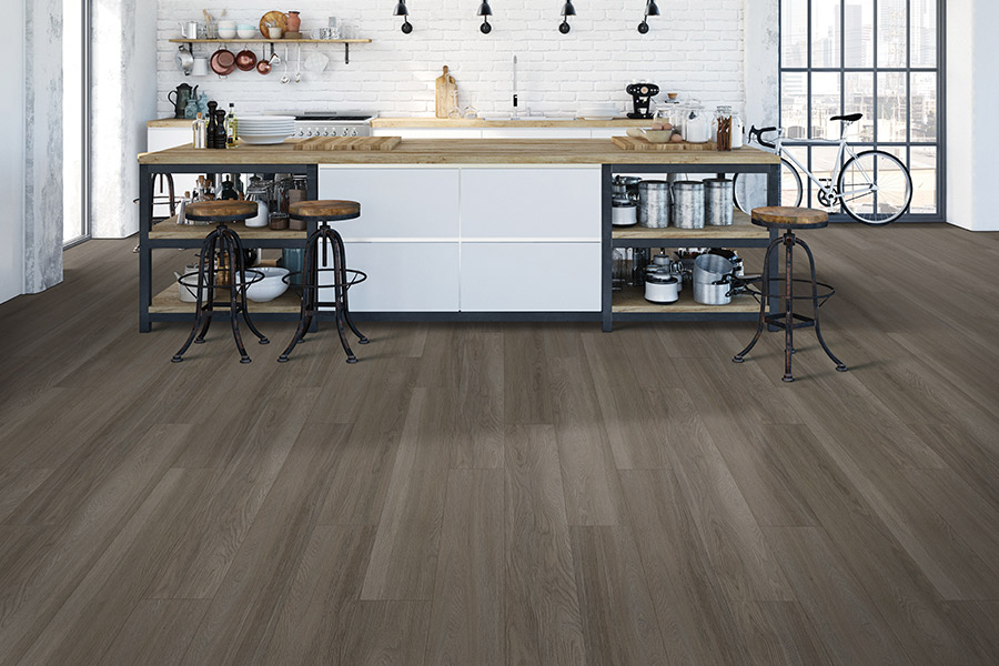 Wood look luxury vinyl plank flooring in Charlotte, NC from STS Floors