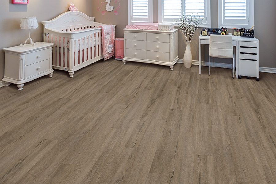 Wood look waterproof flooring in Northern Colorado from Carpet Solutions & More