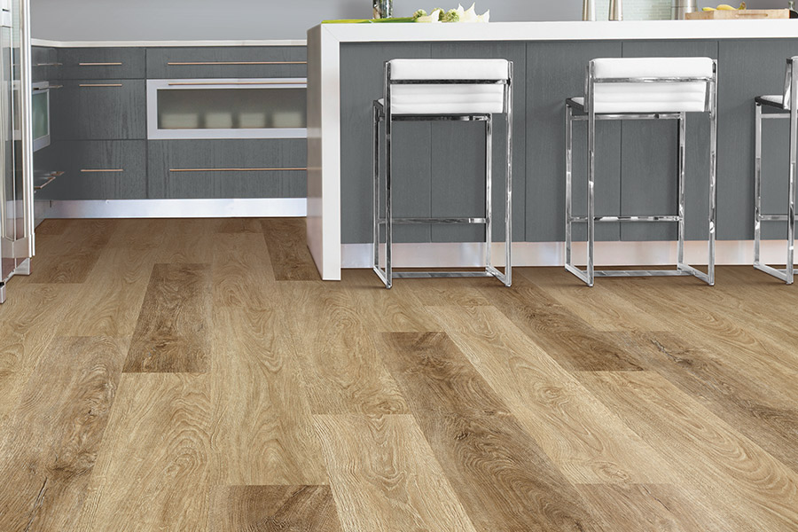 Wood look luxury vinyl plank flooring in Clute, TX from Zimmerle Floors
