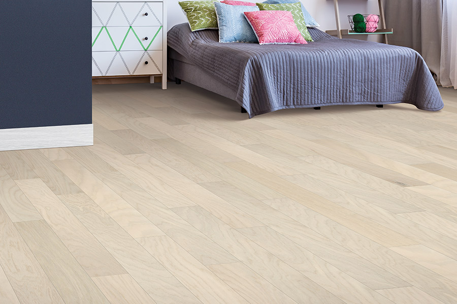 Contemporary wood flooring in Wymore, NE from Jim's Carpet & Supplies