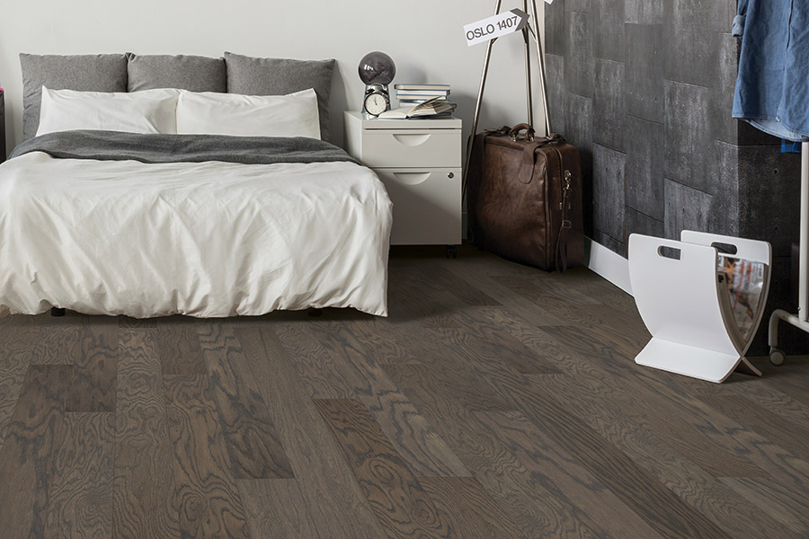 Contemporary wood flooring in Geneva, OH from Carpet Mart