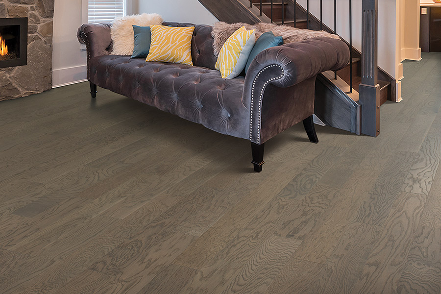 Contemporary wood flooring in Normandy Park, WA from Interiors By Jayme