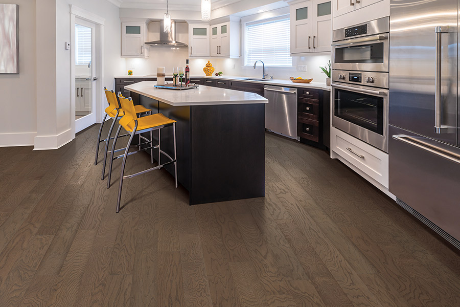 Contemporary wood flooring in Port Washington, WI from Carpets Galore and Flooring